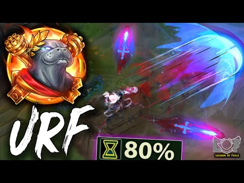 URF Ezreal OP Champ and LoL Moments 2020 - League of Legends