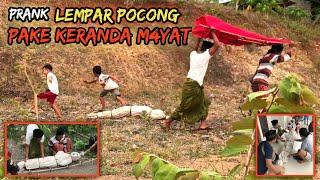 Prank Lempar Pocong Pake Keranda Mayat