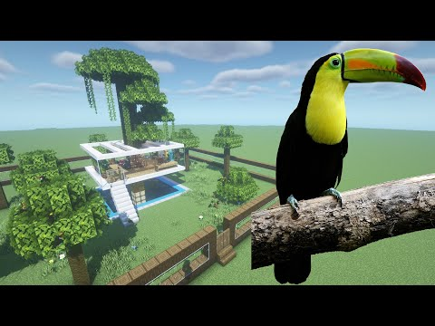 How To Make a Toucan Farm in Minecraft PE