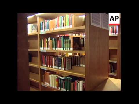 FRANCE: PRESIDENT JACQUES CHIRAC TO INAUGURATE NEW NATIONAL LIBRARY