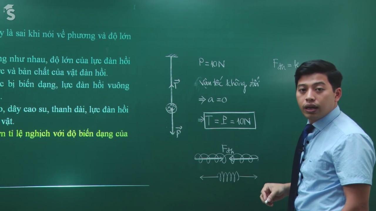 Đề kiểm tra học kỳ I – Vật lý 10 – Thầy Phạm Quốc Toản