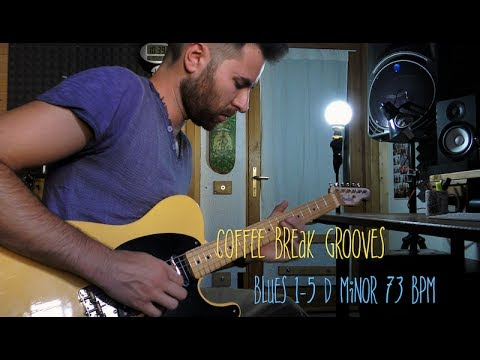 Blues 1-5 Dm Coffee Break Grooves By Elia Garutti