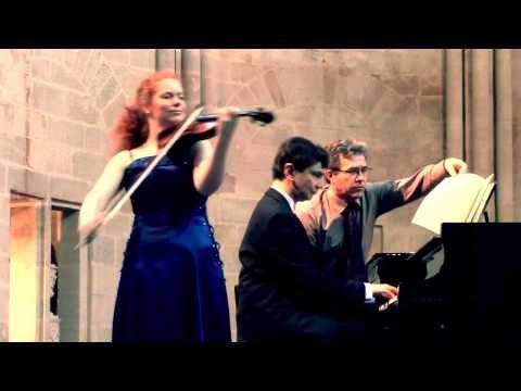 """Éléonore Darmon et Éric Astoul jouent Tchaikovsky """"Souvenir d'un Lieu Cher"""" op. 42 (complet)"""