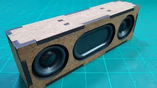 Building Bluetooth Speaker With MDF Wood