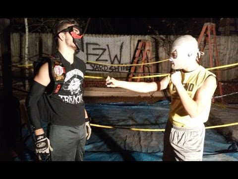 "EZW Yard Strife ""After Dark"" | Episode 3 | Backyard Wrestling | Featuring a TLC Match"