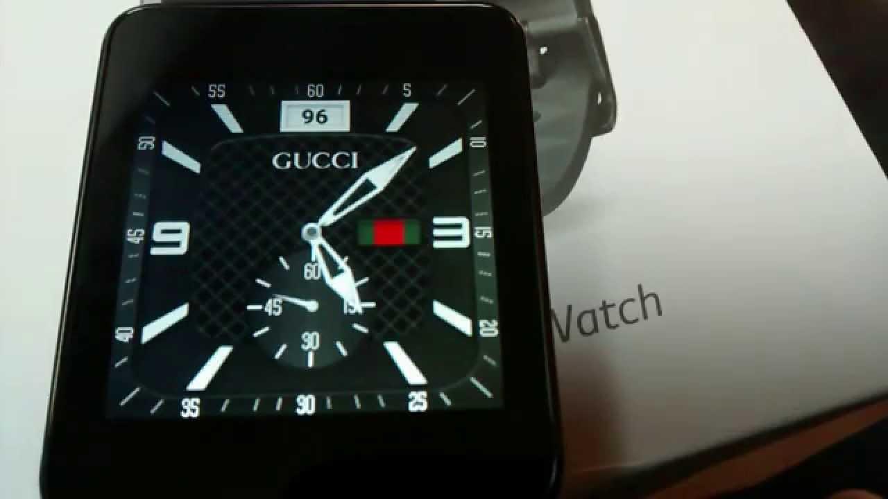 LG\u0027s G Watch , Gucci, Armani, and Casio Smartwatch Faces