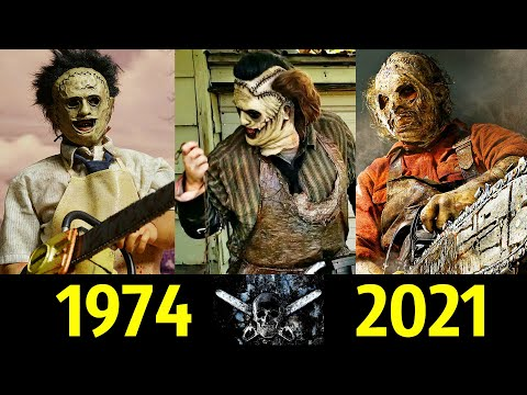 😡 Кожаное Лицо - Эволюция (1974 - 2021) ! Техасская Резня Бензопилой 😱!