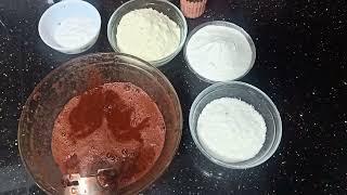 طريقه عمل ايس كريم الكرز بطريقه لبنى درويش