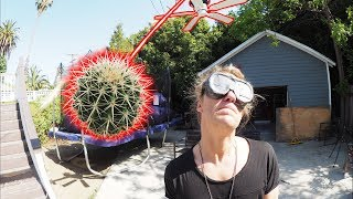 Cactus on a Fan Dodgeball! - The Dudesons
