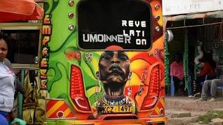 Nairobi's Matatus, pimped-up rides like no other