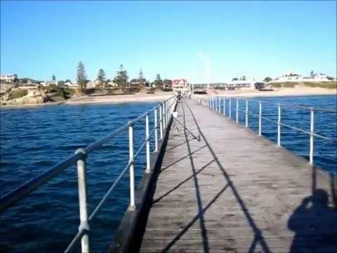 Fishing At Port Noarlunga Jetty, Adelaide SA