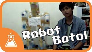 Membuat Robot Dari Botol Bekas