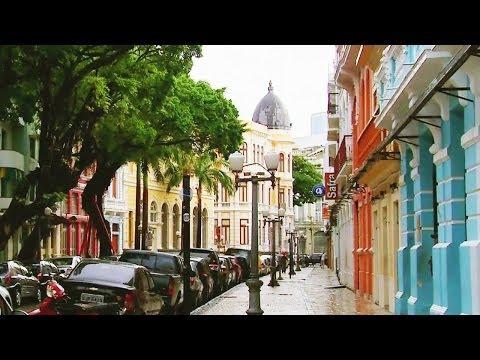Carlos Calderón visitó la 'peligrosa' ciudad de Recife