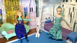Frozen Castle And Ice Palace Playsett Disney Princess Anna + Disney Princess Elsa