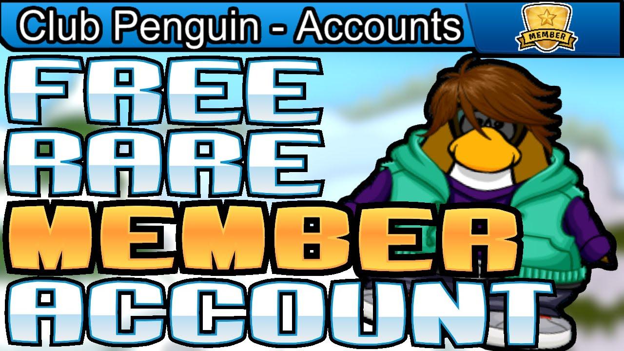 Club penguin compte rare membre gratuit donner 2100 - Club penguin gratuit ...