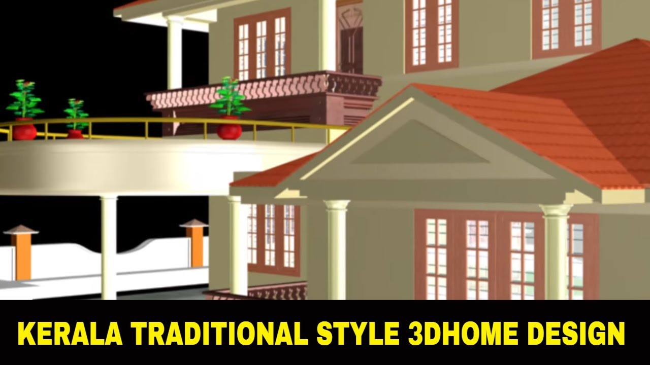3D Home Design 3D Studio Max House Design Project File Full