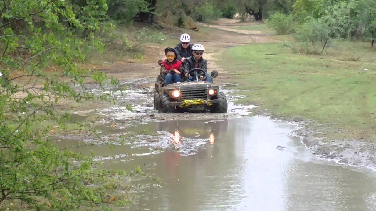Go Kart Mini Willy Jeep In Mud 2 Youtube