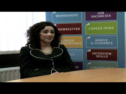 DCU Intra and Careers  Joint Interview Advice with Denise McMorrow