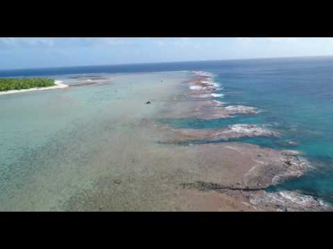 Palmerston Island - Aerial Drone Footage (3) - Will in Paradise