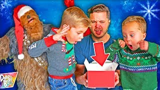 Opening Bad Christmas Presents with Santa Chewbacca! 😂 (HILARIOUS!)