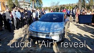Lucid Air reveal