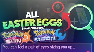 All Pokemon Sun and Moon Easter Eggs, References, and Things Missed (That I Could Find)