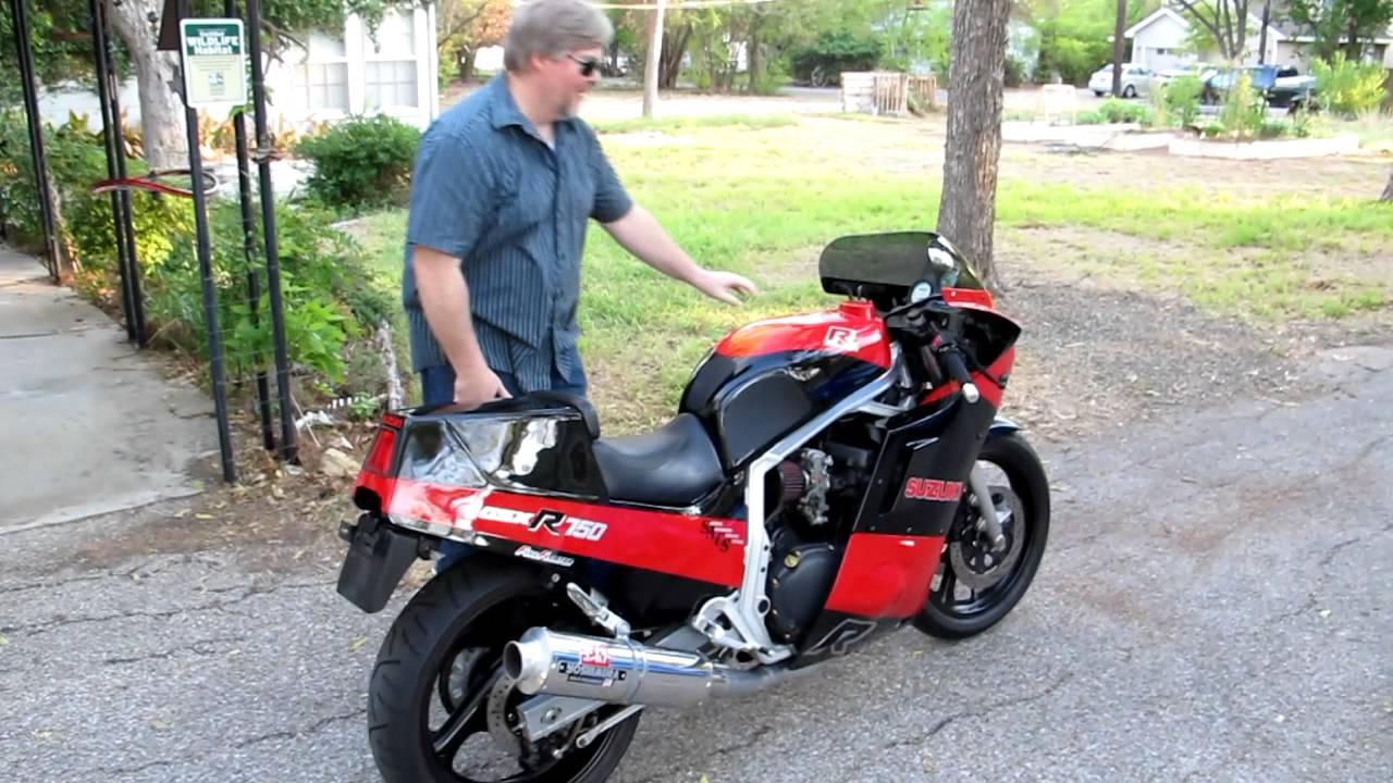 1986 Suzuki GSXR750 eBay Auction # 110757168042 - YouTube