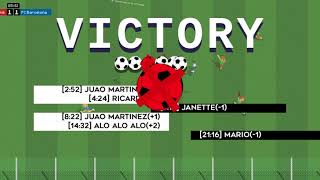 Instant online soccer game - Victory screen