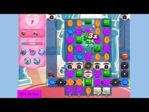 Candy Crush Saga Level 3271 NO BOOSTERS Cookie