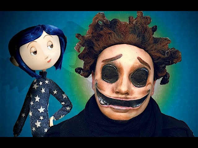 Wybie S Grin Coraline Makeup Tutorial Youtube