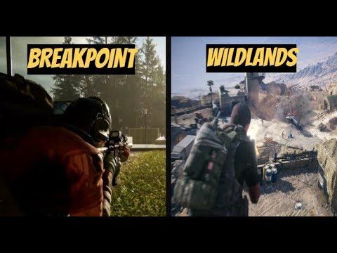 Ghost Recon Breakpoint VS Ghost Recon Wildlands DIRECT COMPARISON