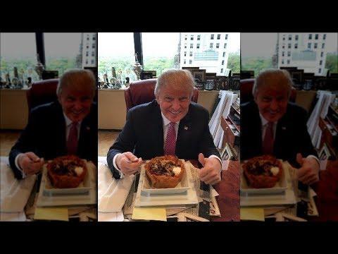 A Look Inside Donald Trump's Bizarre Eating Habits