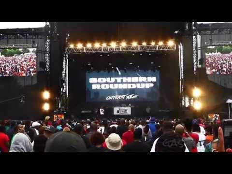 Bun B Live Concert Outkast #ATLast Atlanta 2014