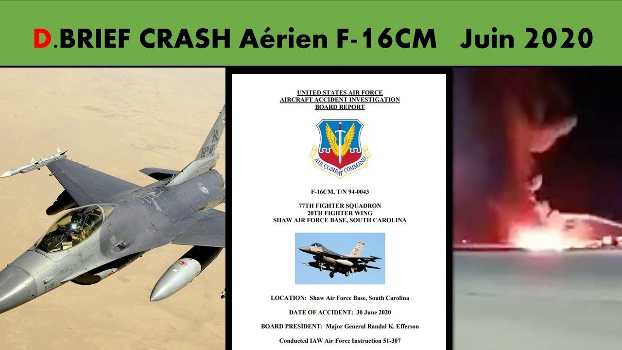 Download CRASH F-16 JUIN 2020. ANALYSE DE L'ACCIDENT AVEC UN PILOTE