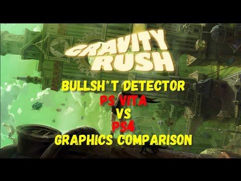 Gravity Rush / Gravity Daze PS Vita vs PS4 Graphics ...