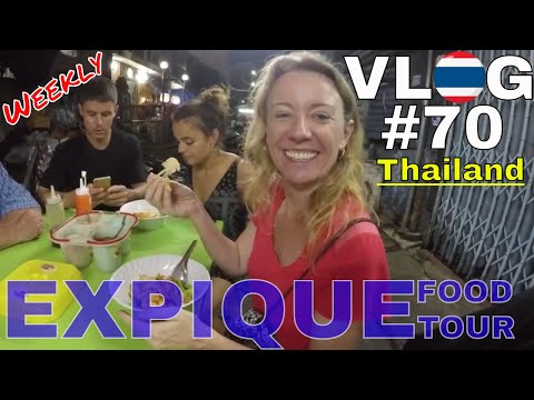 THAILAND \\ #1 Food Tour in Bangkok // VLOG#70  ประเทศไทย กรุงเทพมหานคร
