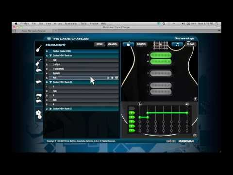 The Music Man Game Changer Web Application Tutorial