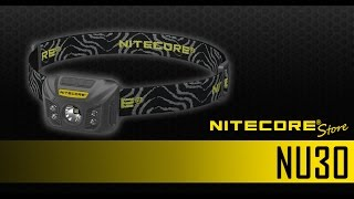 Nitecore NU30 400 Lumen USB Rechargeable Headlamp with Red, White and CRI Outputs
