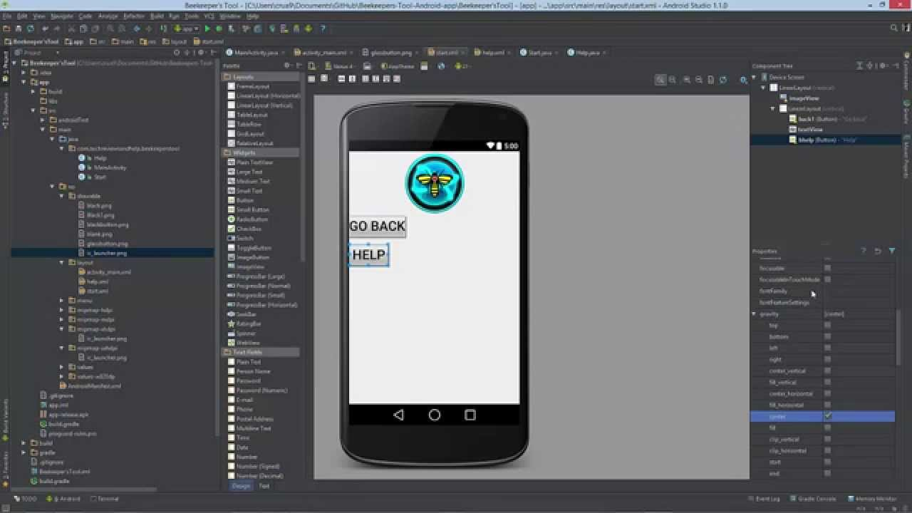 Android code How to add and change images with image view