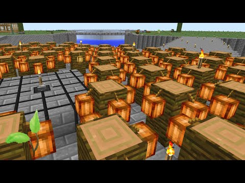 Minecraft Mods Regrowth - COCOA FARM [E41] (Modded HQM)