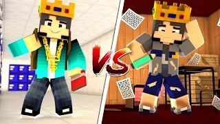 Minecraft Machinima: RICO VS POBRE NA ESCOLA!