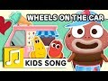 Download WHEELS ON THE CAR | NURSERY RHYME | BEST KIDS SONG | LARVA KIDS | FULL SONG | FAMILY SONG MP3 song and Music Video