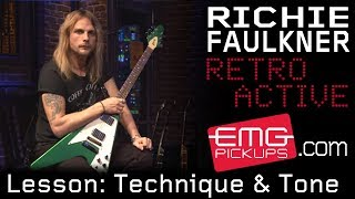 Richie Faulkner of Judas Priest talks influences and technique, EMGtv