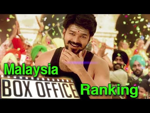 Mersal Ranking In Malaysia Box Office | Thalapathy Vijay Will Beat Superstar In Malaysia ?