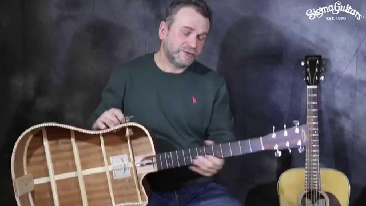 Акустическая гитара WASHBURN WJ25S - YouTube