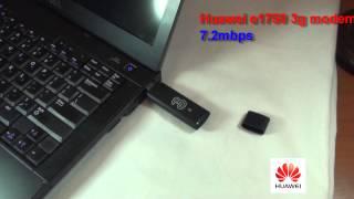Huawei e1750 3g modem