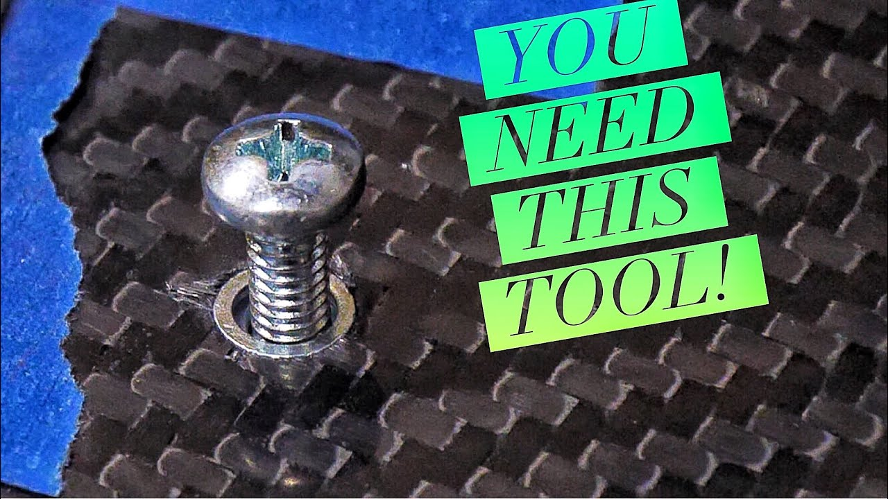 RIVET NUT 🥜 YOU NEED THIS TOOL! [4K]