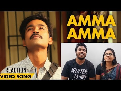 Velai Illa Pattadhaari - Amma Amma | Video Song Reaction by Malayalees | #D25 | #VIP