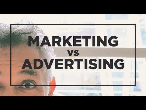Marketing Vs Advertising #HTipT #196