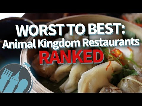 WORST TO BEST!: Disney World Animal Kingdom Restaurants RANKED!